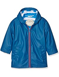 Hatley Splash Jacket-Navy (Boys), Impermeable para Niños