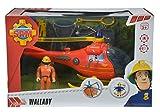 Simba 109251661 - Feuerwehrmann Sam Hubschrauber mit Figur für Simba 109251661 - Feuerwehrmann Sam Hubschrauber mit Figur