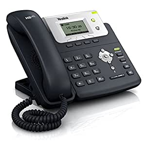 Yealink SIP-T20P SIP-IP-téléphone PoE Entry Level - Black, sans Chargeur