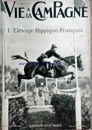 VIE A LA CAMPAGNE [No 161] du 01/06/1913