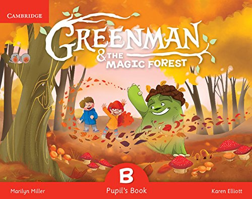 Greenman and the magic forest b pupil's book with stickers and pop - outs