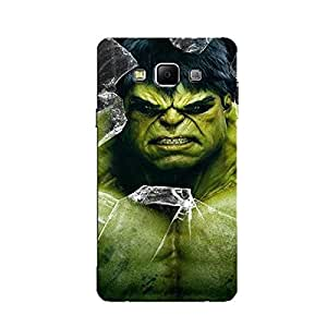 PRINTED BACK COVER FOR SAMSUNG A8