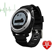 DongAshley GPS Tracker De Actividad,Monitoreo Del Sueño GPS Reloj De Salud Inteligente,Número