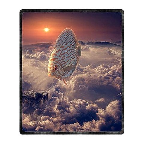 """Custom Wolken aus Wolle Decke für Bett oder Sofa, 50x 60(Zoll) über 127cmx152.4cm, Fleece, C, 50"""" x 60"""""""