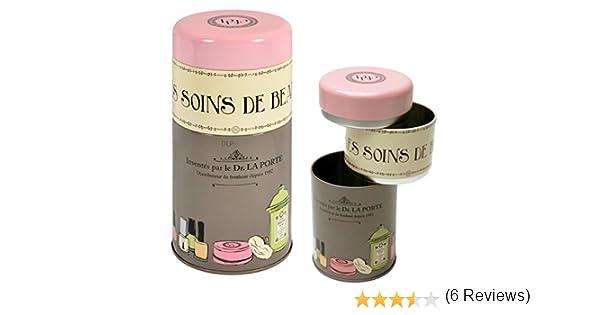 empilable Derri/ère la porte Sois belle rose//noir Boite /à Beaut/é
