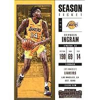 2017–18Dépasse Panini Season Ticket # 83Brandon INGRAM Los Angeles Lakers Basketball carte