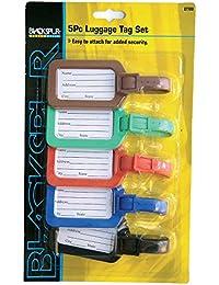 5x Étiquettes adresse Étiquettes bagages vacances Valise
