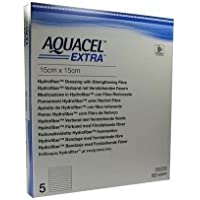 AQUACEL Extra Wundauflage 15cm x 15cm x5420673(Wunde, cruris, post-op, Verbrennungen) preisvergleich bei billige-tabletten.eu