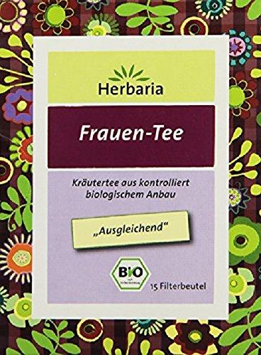 Herbaria Frauen-Tee Bio Kräutertee, 15 Beutel, 22,5 g