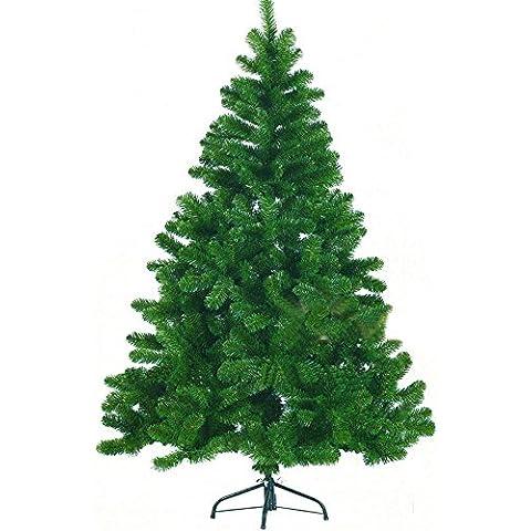 Sunjas Árbol navideño árbol de Navidad artificial abeto WONDERLAND en 4 tamaños Color:verde medio;Longitud:180