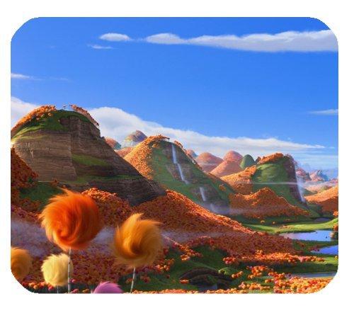 Lorax Film Truffula Bäume Mousepad, personalisiert, rechteckig