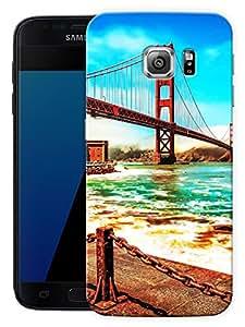 "Humor Gang Bridge Road SceneryPrinted Designer Mobile Back Cover For ""Samsung Galaxy S7 Edge"" (3D, Matte Finish, Premium Quality, Protective Snap On Slim Hard Phone Case, Multi Color)"