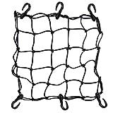 upanbike 30x 30cm pour moto 6crochets Maintenez Transporteur élastiques en maille filet stretch Web gaz bagages Casque