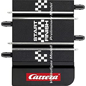 Carrera- GO Pista de Conexión (2017), Escala 1:43, Color Negro (20061666)