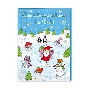 """Blinies Adventskalender """"Gute Weihnachtslaune für Dich!"""", 1er Pack (1 x 75 g)"""