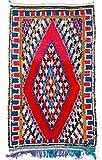 Trendcarpet Tappeto Berberi dal Marocco Boucherouite 280 x 135 cm