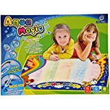 Planet of Toys Aqua Magic Drawing Mat With Templates And Doodle Colour For Kids, Children