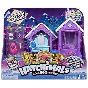 Hatchimals CollEGGtibles Glitter Salon Playset - Season 6 - Kits de Figuras de Juguete para niños (5 año(s))