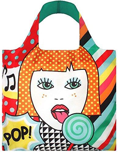 Einkaufstasche,bunt,Illustration,Loqi
