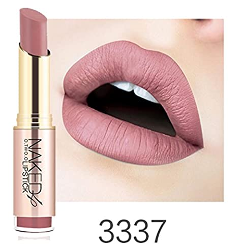 ESAILQ Mesdames Beauté Maquillage Rouge à lèvres imperméable Sexy Hydratant Longue Lipstick Durable (K)