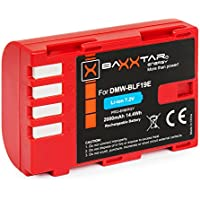 Baxxtar Pro batería para Panasonic DMW BLF19 E con info chip - para Panasonic Lumix DC G9 GH5 GH5s DMC GH3 GH4 GH4R / Sigma BP-61