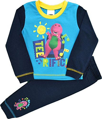 Barney Boys Barney amp; Friends Snuggle Fit Pyjamas Size 18-24 Months
