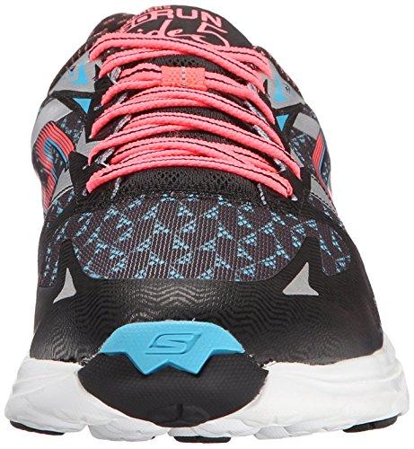 Skechers GO Run Ride 5, Chaussures de course femme noir (BKCL)
