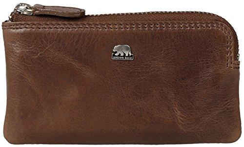 Brown Bear Schlüsseletui Leder Braun Tobacco cl 8017 br