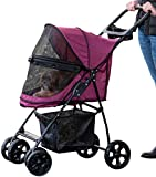 Best Pet Gear Dog Strollers - Pet Gear Happy Trails Lite No-Zip Pet Stroller Review