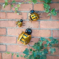 Graceful Bumble Bee 3 Pack Metal Wall Art Stunning Looks by Bumble