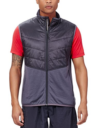 Icebreaker Herren Weste Ellipse Vest Monsoon/Black
