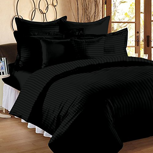 Ahmedabad Cotton 2 Piece 300TC Striped Duvet Cover Set - 60 x...