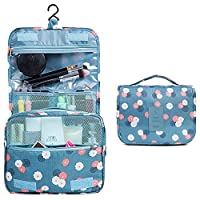 Vox Ladies Travel Toiletry Bag Waterproof Toiletry Bag Makeup Bags for Travel (Sky blue)