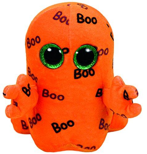 Ty Beanie Boos Ghoulie-Fantasma Naranja 15cm-Halloween (37192TY), Color