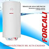 Termo Electrico Forcali modelo FEH-3S 30lt. Calentador 5 AÑOS DE GARANTIA