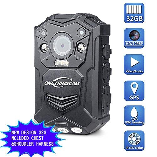 onething cuerpo cámara Policía cámara Full HD 1296P 30fps 64G memoria han...