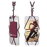 Handy Lanyard Band, Gear Beast Universal Smartphone Schutzhülle Halterung Lanyard Halskette Handgelenk Gurt mit ID Kart