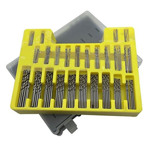 Preisvergleich Produktbild 150tlg. Bohrer Set Koffer Spiralbohrer HSS High Speed Metallbohrer 0,4-3,2mm Titan Trist Drill Bit