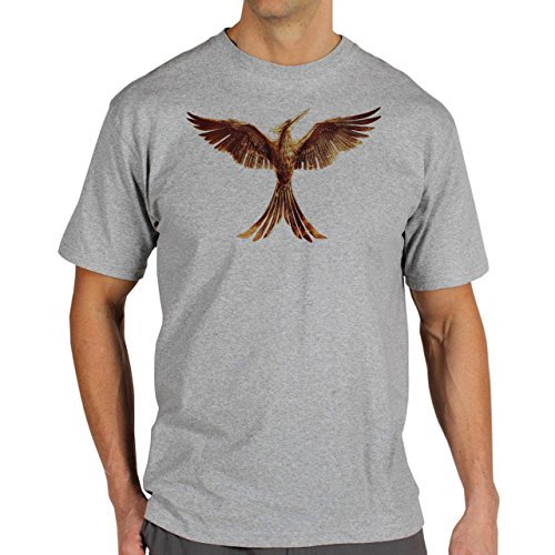 The-Hunger-Games-Golden-Eagle-Art-In-It's-Glory-Layer-0.jpg Herren T-Shirt Grau