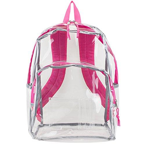 eastsport-zaino-chiaro-trasparente-con-finiture-rosa