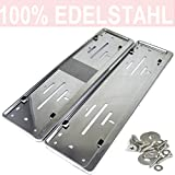 2 Pcs. License Plate Holders Stainless Steel - Best Reviews Guide