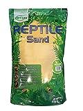 Pettex reptile calci sabbia colorata, 4litro, giallo