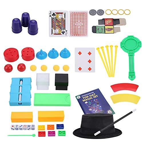 VGEBY1 Magic Prop Set, Zaubertricks Spielzeug Kits Neuheit Geschenk für Anfänger Kinder (# 2529 Grün) (Anfänger Zaubertricks)