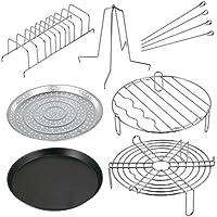 Secura Juego de accesorios completos de horno Plata