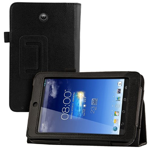 kwmobile Funda para Asus Memo Pad HD 7   Case delgado para tablet con soporte   Smart Cover slim para tableta en negro