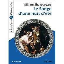 Le Songe d'une nuit d'été by William Shakespeare (2013-06-21)