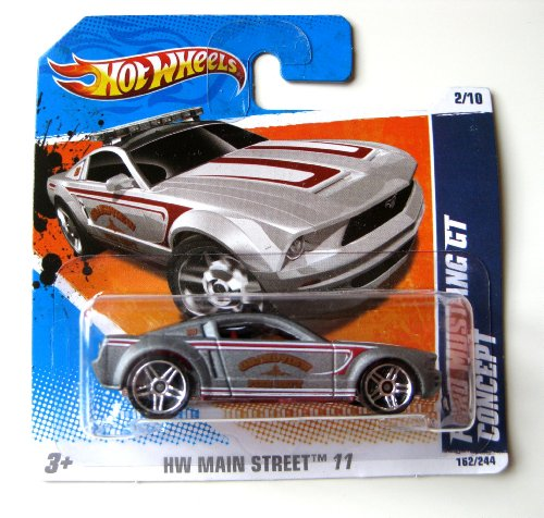 Hot Wheels Ford Mustang GT Concept graumetallic 1:64
