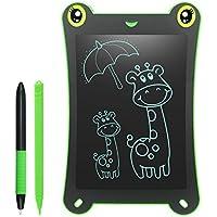 HOMESTEC Pizarra Electronica LCD para Niños 8.5 Pulgadas Bloc de Dibujo 2 Imanes 2 Plumas sin Papel Reutilizables para Garabatear Pintura de Escritura Juguetes Niños