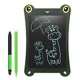 Newyes Writing Tablet/ LCD Grafiktablet/ Frog Pad 8.5-Zoll Elektronischer Notizblock umweltfreundlich für Schreiben und Malen mit Stift (Grün+Stift)