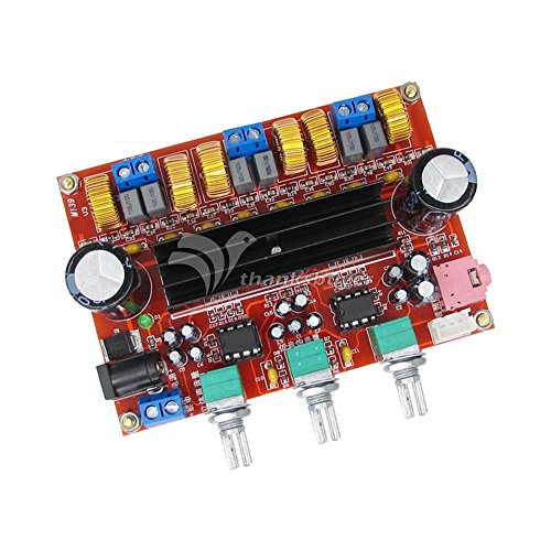 Generic DC12V-24V 2*50W+100W XH-M139 2.1 Channel digital Subwoofer Amplifier Board Chip TPA3116D2